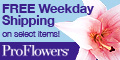Free weekday shipping