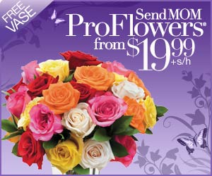 Send Fresh Mother's Day Flowers from $19.99 at ProFlowers!