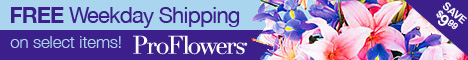 ProFlowers - Free Shipping on select items on FREE Shipping Sale page!