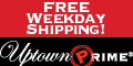 FREE Standard Overnight Shipping!