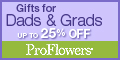 Save up to 25% off Dads & Grads gifts!