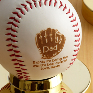 Personalized Dad Baseball