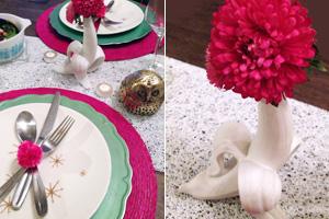 Whimsical table setting