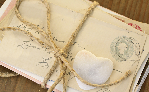 the thrill of stashing your precious epistles in a locked drawer or beneath a floorboard a handwritten love letter