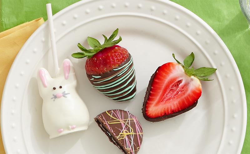 Easter berries anc cake pops